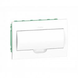 1x18 modulov, IP40, zápustná rozvodnica, biele dvere