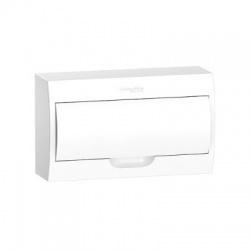 1x18 modulov, IP40, nástenná rozvodnica, biele dvere