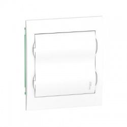 2x12 modulov, IP40, zápustná rozvodnica, biele dvere