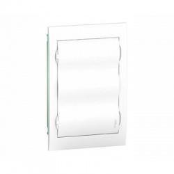 3x12 modulov, IP40, zápustná rozvodnica, biele dvere