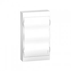 3x12 modulov, IP40, nástenná rozvodnica, biele dvere