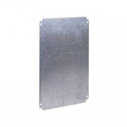 400x300 plný montážny panel, pozinkovaný