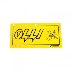 """Výstražná tabuľka """"Pozor, elektrický ohradník!"""""""