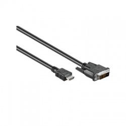 HDMI/DVI kábel 1,4A vidlica, 2m