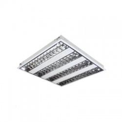 VIRD 414 PT-EVG svietidlo mriežkové vstavané MILEDO