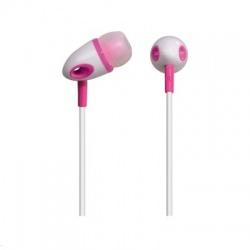 ME-296 slúchadlá, 10mm, bielo-ružové