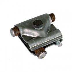 Univerzálna svorka Maxi MV so stredovou doštičkou, kruhový vodič Rd 8-16/15-25mm oceľ