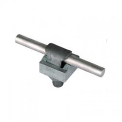 Jednodielna svorka KS kruhový vodič Rd 7-10mm, FeZn
