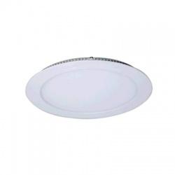 WD110 18W LED panel, okrúhly, neutrálna biela, biely