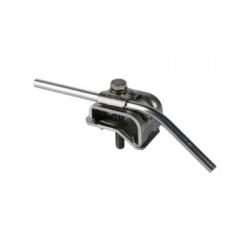 Odkvapová svorka s upevňovacou skrutkou Rd 8-10mm rozsah uchytenia 16-22mm, Al