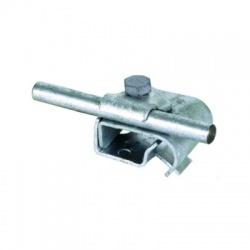 Odkvapová svorka Rd 6-10mm rozsah uchytenia 16-22mm, FeZn