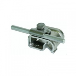 Odkvapová svorka Rd 6-10mm rozsah uchytenia 16-22mm, Al