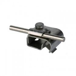 Odkvapová svorka Rd 6-10mm rozsah uchytenia 16-22mm, nerez V2A