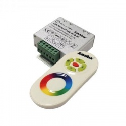 CONTROLLER LED RGB-RF riadiaca jednotka LED pásu
