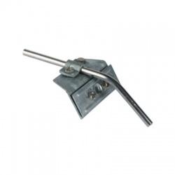 Svorka na snehovú zábranu Rd 7-10mm plech o hrúbke 3-13mm, FeZn