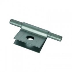Násuvná svorka Rd 8mm otvor 11mm, FeZn