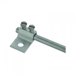 Násuvná svorka skrutková Rd 7-10mm otvor 11mm, Al