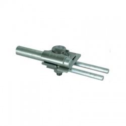 Svorka pre zachytávacie tyče Rd 2x8-10 tyč 16mm, FeZn/Al