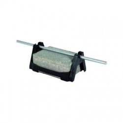 Podpera vedenia na ploché strechy FB2, voľné uloženie vodiča Rd 8mm, plast-betón