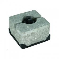 Podpera vedenia na ploché strechy FB, voľné uloženie vodiča Rd 8mm, plast-betón