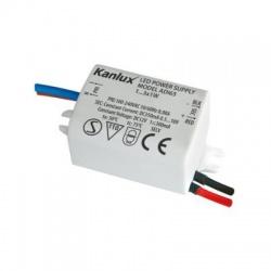 ADI 350 1-3W/220-240V, DC 350mA (0,5V-10V) elektronický transformátor