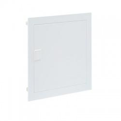 1x12 modulov, IP30, zápustná kovo-plastová rozvodnica, biele dvere