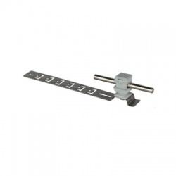 Podpera vedenia Rd 8 pod krytinu snap V 16mm, L 205mm, nerez-plast, sivá