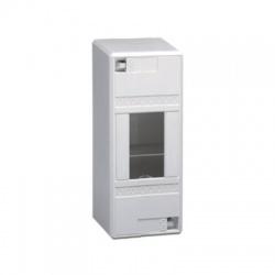 1x2moduly, IP30, nástenná skrinka, bez dverí
