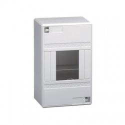 1x4moduly, IP30, nástenná skrinka, bez dverí