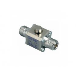 HX-090 N50 F/M zvodič bleskových prúdov pre koaxiálne vedenie, konektor N50