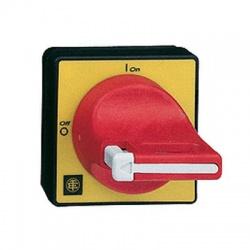 KCF1PZ páčka uzamykateľná pre VN12, VN20, V02-V2,4, 60x60mm, červená