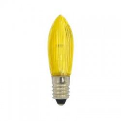 14V/3W žiarovka, E10, žltá