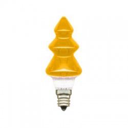 20V/0,1A žiarovka stromček, E10, žltá