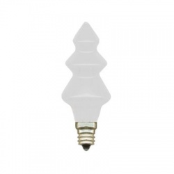 20V, 0,1A, žiarovka stromček, E10, biela