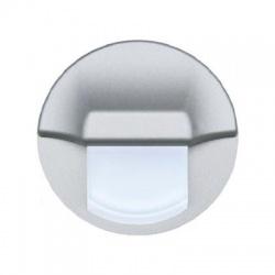STAR LINE Ross svietidlo LED, priemer 60mm, strieborné matné, studená biela