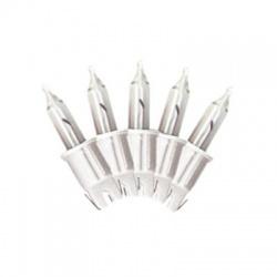 4,8V/0,326W žiarovka k typu KAF 50, biela