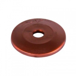 Krytky a distančné podložky 37mm plast, hnedý
