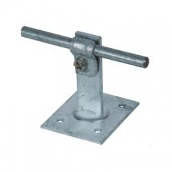 Podpera vedenia Rd 6-10mm na ploché strechy, quick, V 60mm, 100x100mm, FeZn