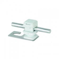 Podpera vedenia Rd 8 Snap 16 sivý pre vlnitú strechu svorka hák 5 a 8, nerez V2A