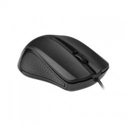 MUS-101 USB optická myš, čierna