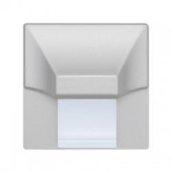 STAR LINE Wenus svietidlo LED, priemer 72,5mm, strieborné matné, studená biela