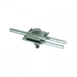 Svorka pre zachytávacie tyče Rd 2x8-10 tyč 8-10mm, FeZn/Al