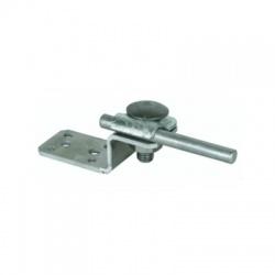 Plech v tvare Z pre kovové konštrukcie, jednoduchá príchytka, Al
