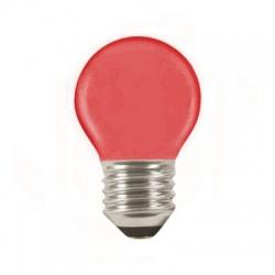 LQ SMD 1W/010, E27, LED žiarovka, červená