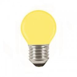 LQ SMD E27 1W/010, LED žiarovka, žltá