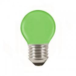 LQ SMD E27 1W/010, LED žiarovka, zelená