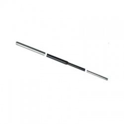 Zavádzacia tyč kruh 16/10 2000 mm, pozinkovaná