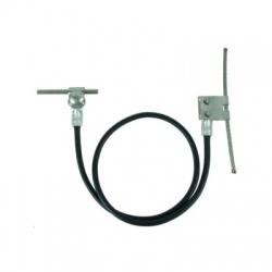 Prepojovacie lano Rd6mm, L1000mm nerez/Cu