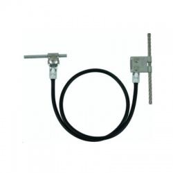 Prepojovacie lano Rd8mm, L1000mm nerez/Cu