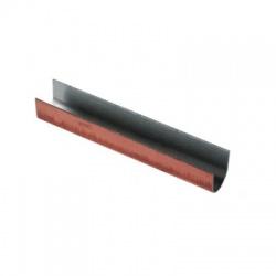 Cupálová U profil vonkajšia Cu/ vnúturná Al Rd8, dlžka 60 mm, 50 mm2